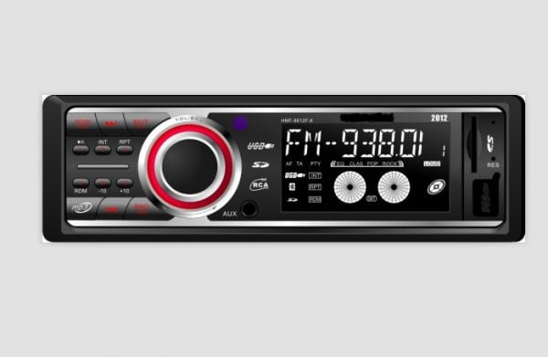Car USB SD MP3 Player with Bluetooth and DAB 1 -