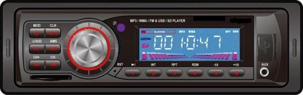 VCAN0714 Car USB SD MP3 player FM radio 1 -