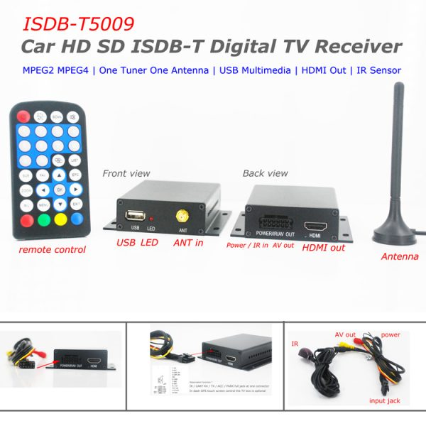 Digital TV Tuner with PVR for Japan Brazil Chile 1 -