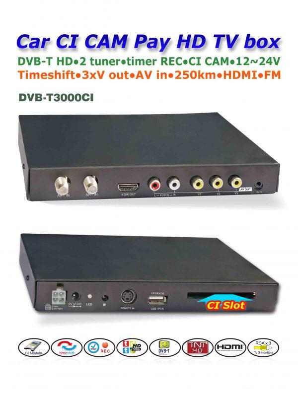In car MPEG2-4 CAM CI Module 3 -