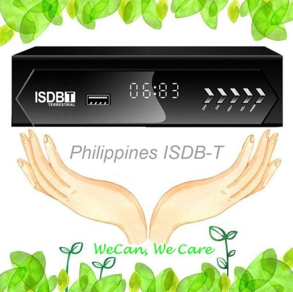 Philippines Home ISDB-T Digital TV Receiver 1 -