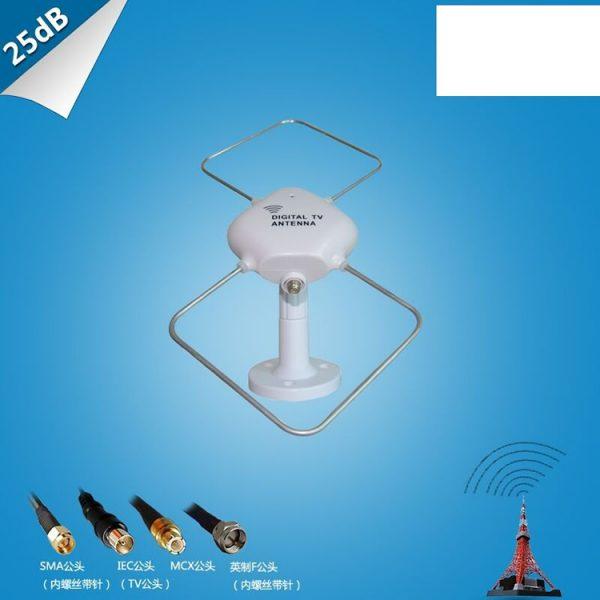 Digital TV DVB-T2 UHFVHF Flat antenna 1 -