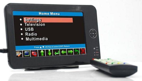 7 inch handheld HD wireless COFDM receiver portable 1 -