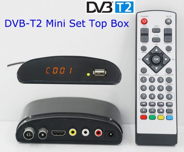 mini Digital TV receiver Set Top Box Home HDTV HDMI USB 6 -