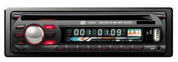 DVCD CD MP3 MP4 USB compatible player Car radio 1 -
