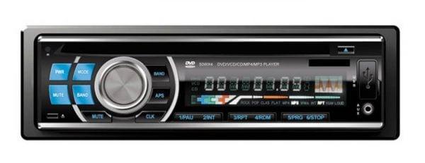 DVD DVCD CD MP3 MP4 USB compatible player Car radio 1 -