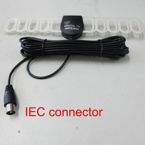 Digital TV antenna DVB-T ISDB-T ATSC high speed film antenna with booster tv signal enlarger active amplifier 2 -