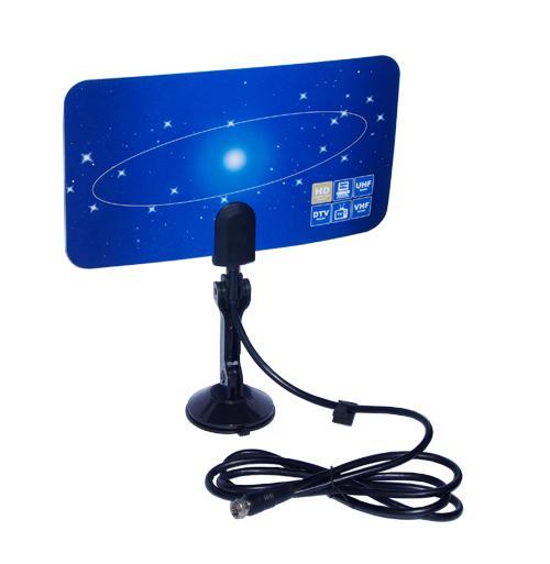 Digital TV DVB-T2 UHF/VHF Flat antenna for home use 3 -