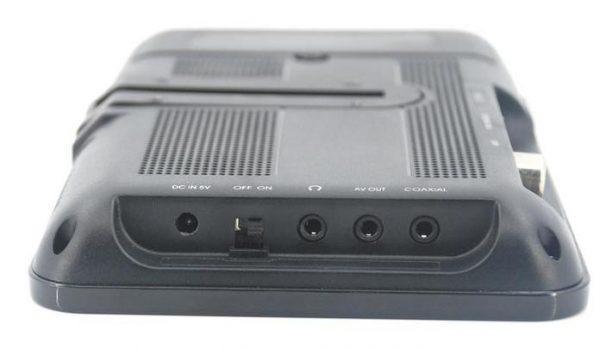 7 inch handheld HD wireless COFDM receiver portable 3 -
