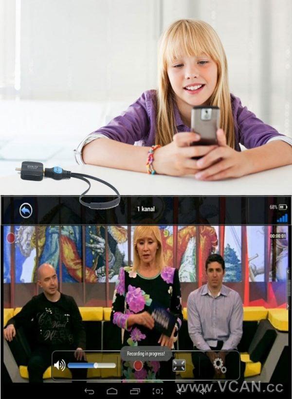 Micro USB Digital DVB-T DVB-T2 TV Tuner Receiver 3 -