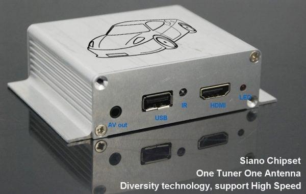 Car ATSC Digital TV receiver for USA Canada Mexico 3 -