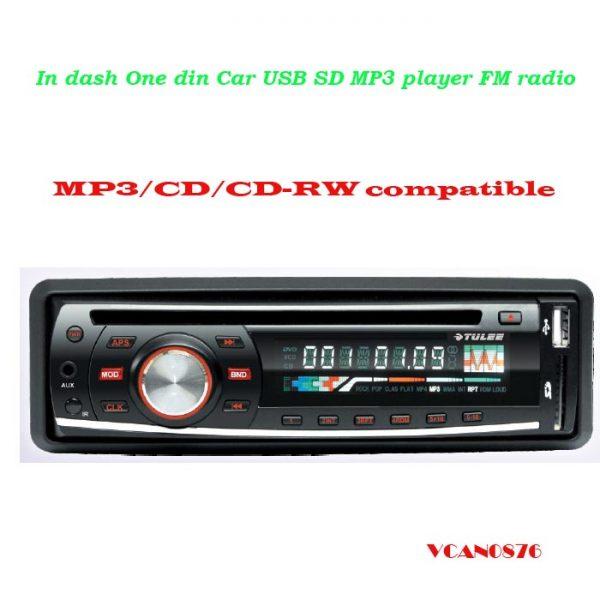 VCAN0876 USB SD MP3 player FM radio 1 -