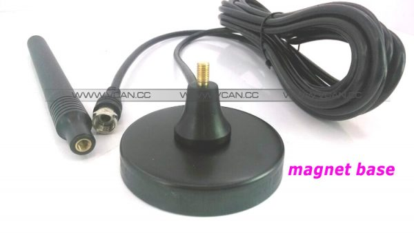 ISDB-T DVB-T2 ATSC Digital TV Antenna with magnet base aerial with signal enlarger MHZ860 Vcan1065 SMA F type IEC MCX 3 -