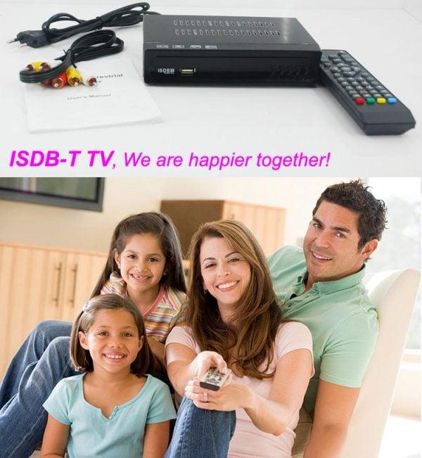 Philippines Home ISDB-T Digital TV Receiver 4 -
