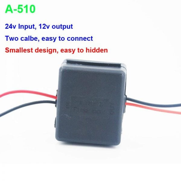 DC24V to 12V Car power charger adapter converter 4 -