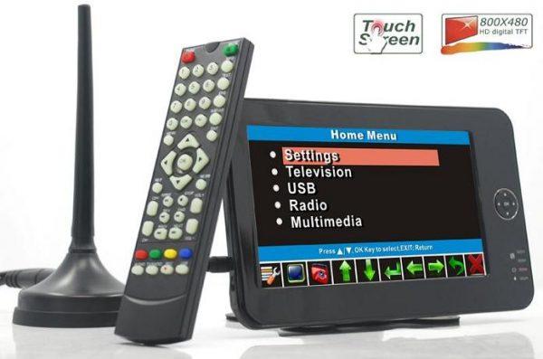 7 inch handheld HD wireless COFDM receiver portable 4 -