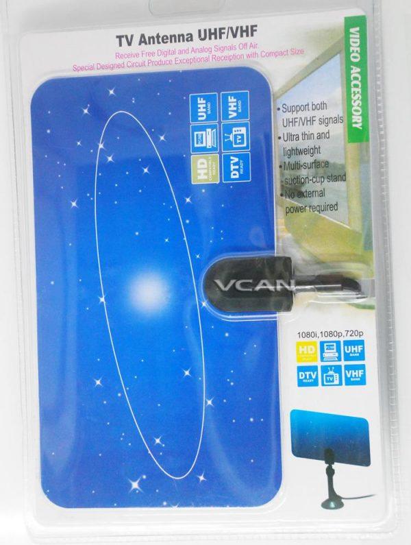 Digital TV DVB-T2 UHF/VHF Flat antenna for home use 5 -