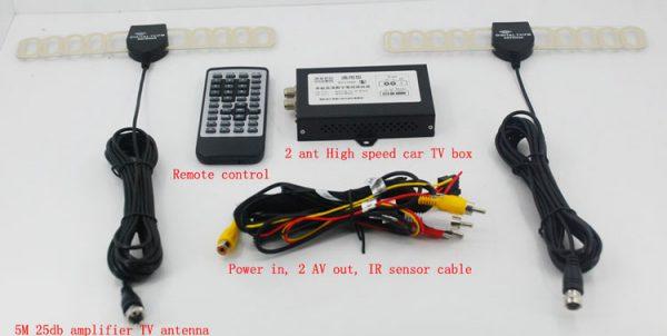 DVB-T HD Digital TV Receiver Box support MPEG4 H.264 5 -