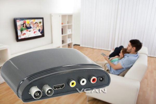 mini Digital TV receiver Set Top Box Home HDTV HDMI USB 3 -