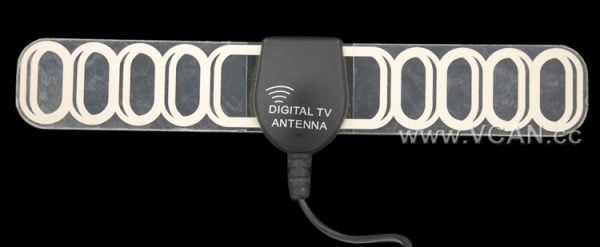 Digital TV antenna DVB-T ISDB-T ATSC high speed film antenna with booster tv signal enlarger active amplifier 5 -