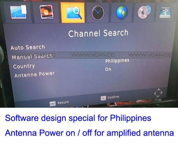Car ISDB-T Philippines Digital TV Receiver 7 -