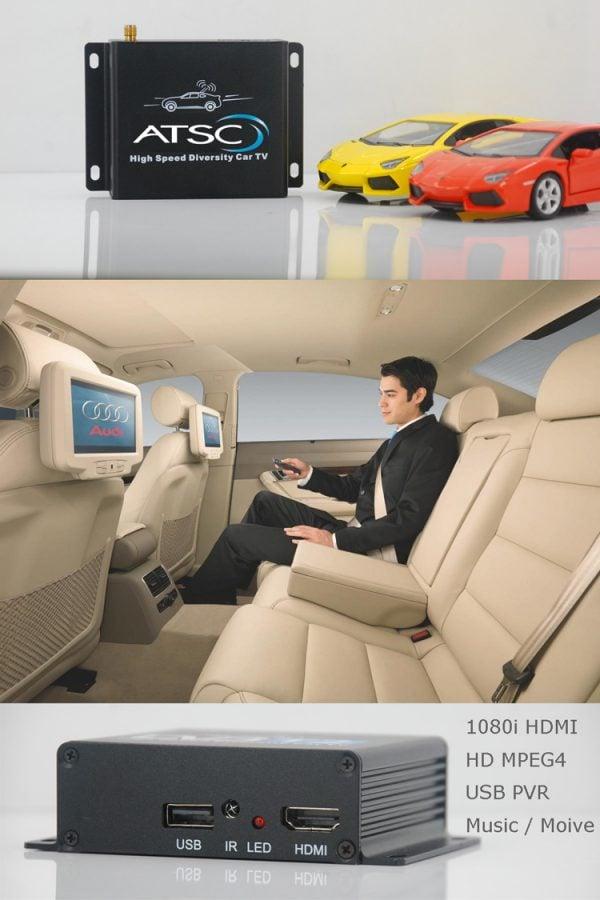 Car ATSC Digital TV receiver for USA Canada Mexico 7 -