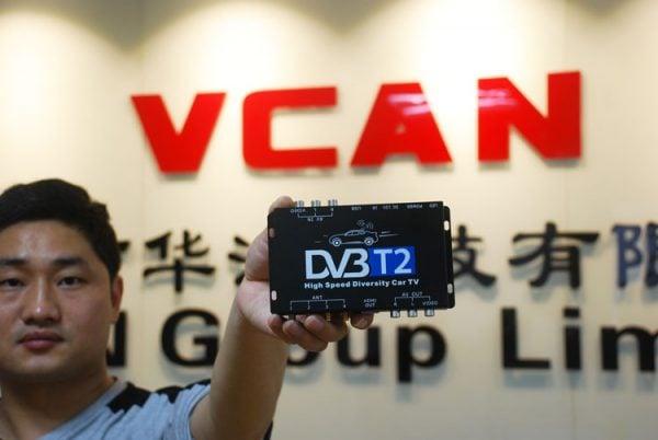 2X2 Two tuner antenna car DVB-T2 Diversity High Speed Russia Thailand 4 -