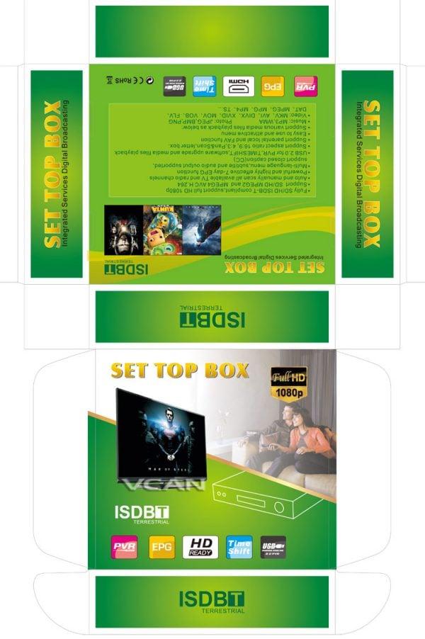 Philippines Home ISDB-T Digital TV Receiver 8 -