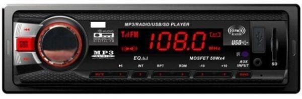 One din car radio with USB bluetooth 1 -