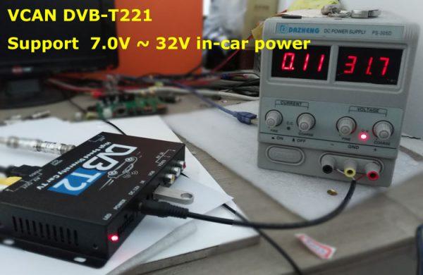 Mobil DVB-T2 Indonesia DVB-T High Speed Digital TV Receiver automobile DTV box DVB-T221 7 -