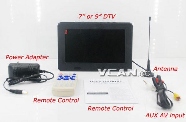 7 inch Digital TV Analog TV USB TF MP5 player 7 -