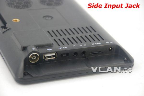 7 inch Digital TV Analog TV USB TF MP5 player 6 -