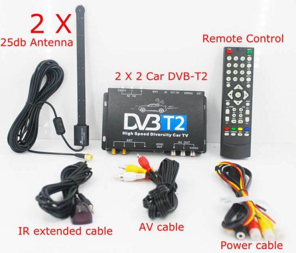Bulgaria DVB-T2 H265 български HEVC Codec New Model DVB-T265 авто мобилна цифрова кола DVB-T2 тв приемник 6 -