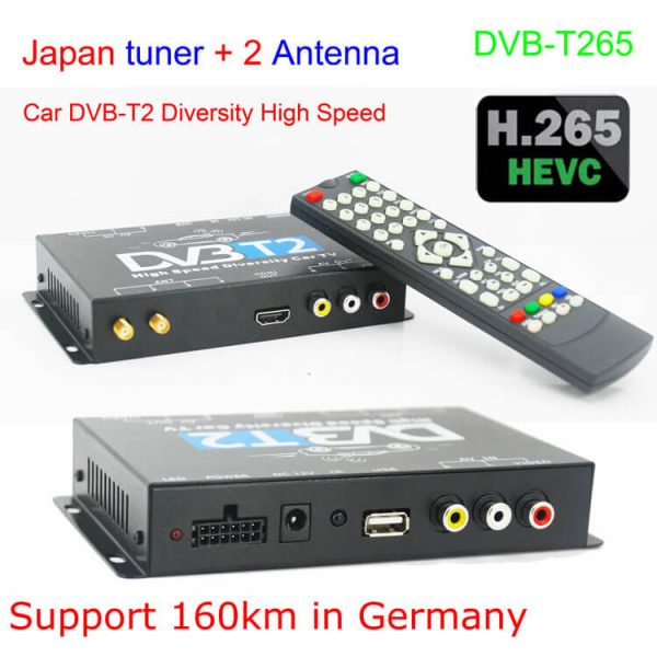 Bulgaria DVB-T2 H265 български HEVC Codec New Model DVB-T265 авто мобилна цифрова кола DVB-T2 тв приемник 5 -