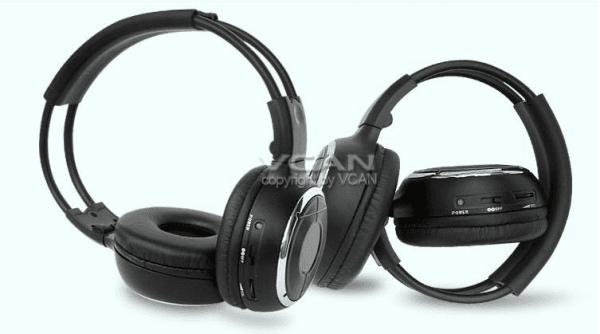WL-2008 car wireless IR stereo TV headphone infrared headset 3 -