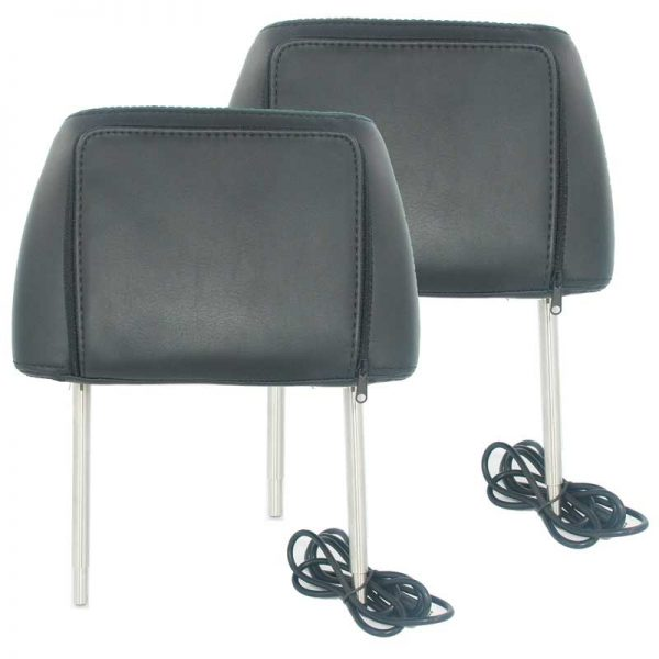 7 inch headrest monitor with pillow bag LED backlight cover zipper 5 -
