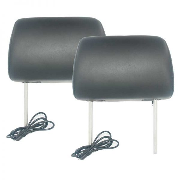 7 inch headrest monitor with pillow bag LED backlight cover zipper 3 -