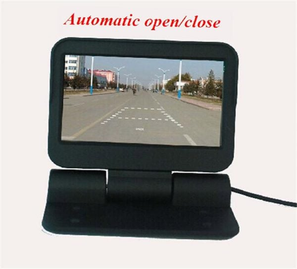 VCAN0998 Auto Electric flip 4.3 monitor LCD Color Car Monitor 3 -
