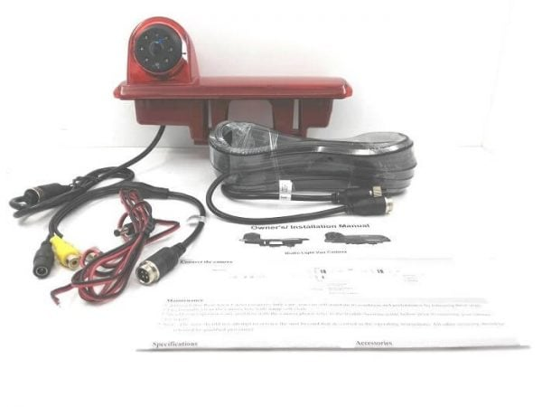 VCAN1337 Waterproof Car CCD CAMERA for OPEL VIVARO with audio night vision IR led 7 -