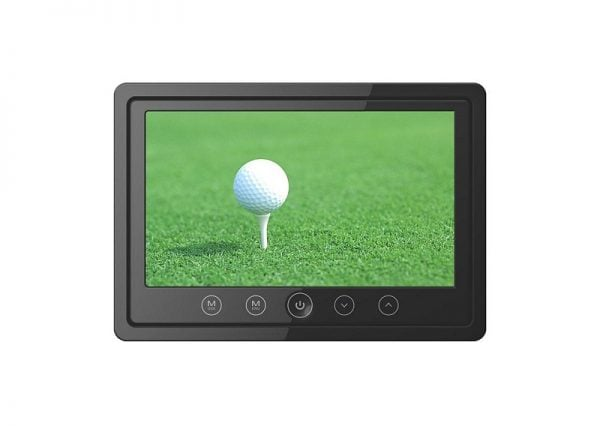 7inch lcd monitor with 2way audio input ir stereo transmitter and frame VCAN1395 1 -