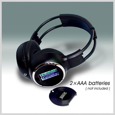 WL-2008 car wireless IR stereo TV headphone infrared headset 4 -