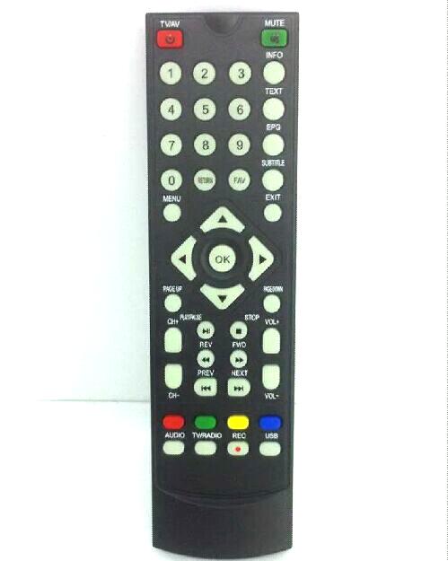 Remote control for DVB-T2010HD Car DVB-T TV Receiver set top box VCAN DVB-T265 DVB-T221 DVB-T24 DVB-T22 3 -