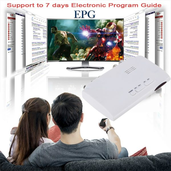 Digital TV ISDB-T ISDB-C Receptor TV Tuner Receiver TDT Set Top Box H.264 HDTV Decoder For VHF UHF TV Antenna 1 -