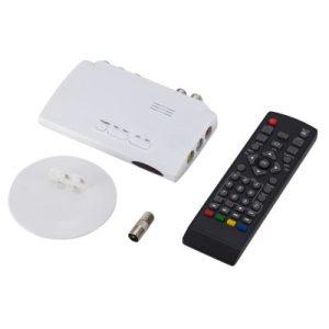 Digital TV ISDB-T ISDB-C Receptor TV Tuner Receiver TDT Set Top Box H.264 HDTV Decoder For VHF UHF TV Antenna