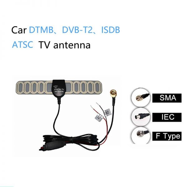 DTMB DVB-T ATSC ISDB Car Aerials Internal Glass Car Radio Antenna Digital TV Car film Antenna For Car Parts Replacement Accessories 2 -
