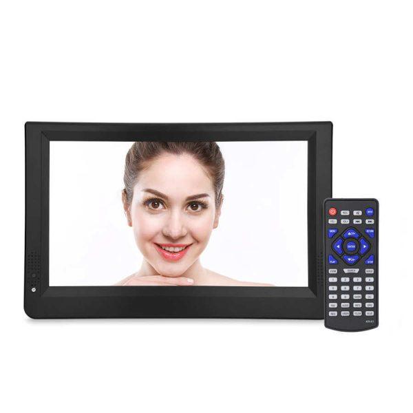 LEADSTAR 12 inch HD Portable TV ISDB-T USB Digital Television Mini Car TV Audio Video Player Support MP4 Monitor EU Plug 4 -