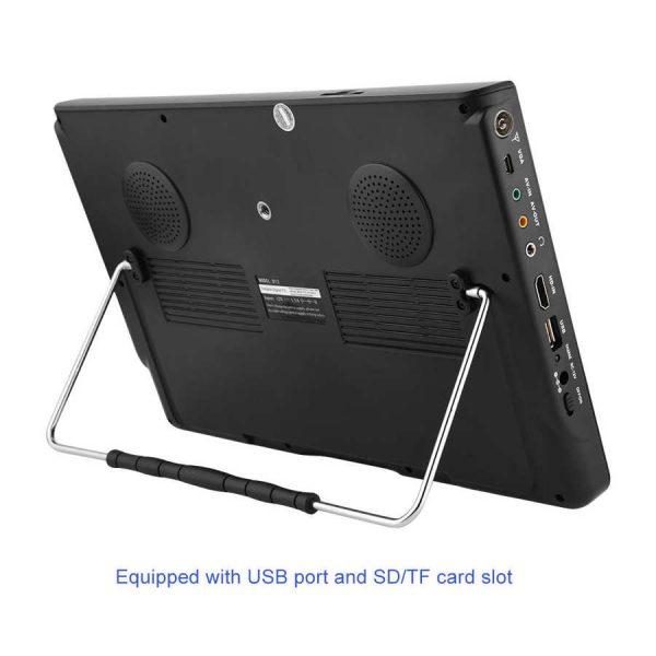 LEADSTAR 12 inch HD Portable TV ISDB-T USB Digital Television Mini Car TV Audio Video Player Support MP4 Monitor EU Plug 6 -